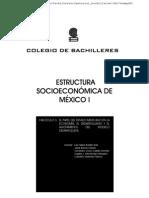 BADILLO, ESTRUCTURA SOCIOECONÓMICA DE MÉXICO I, BACHILLERES