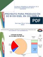 Proyecto Para Biodiesel