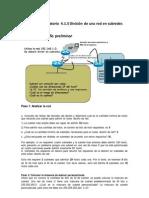 Practica de Laboratorio 4.1.5 (Division de Una Red)