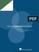 Unione Petrolifera Aprile 09