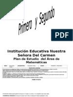 Plan de Estudios de Edufisica 2.009 Colcarmen Primaria