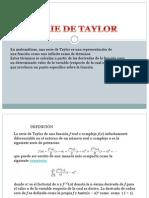 Serie de Taylor (1)