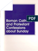 Roman Catholic And Protestant Confessions About Sunday