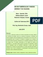 INFORME DE ALMIDONES DE TUBÉRCULOS Y RAICES Y SU CALIDAD MJda (Autoguardado)