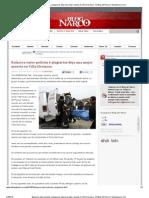 Balacera entre policías y plagiarios deja una mujer muerta en Villa Hermosa - El Blog del Narco _ Mundonarco
