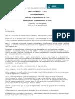 Ley Nacional de Riqueza Forestal - Ley Nº 13273 M N