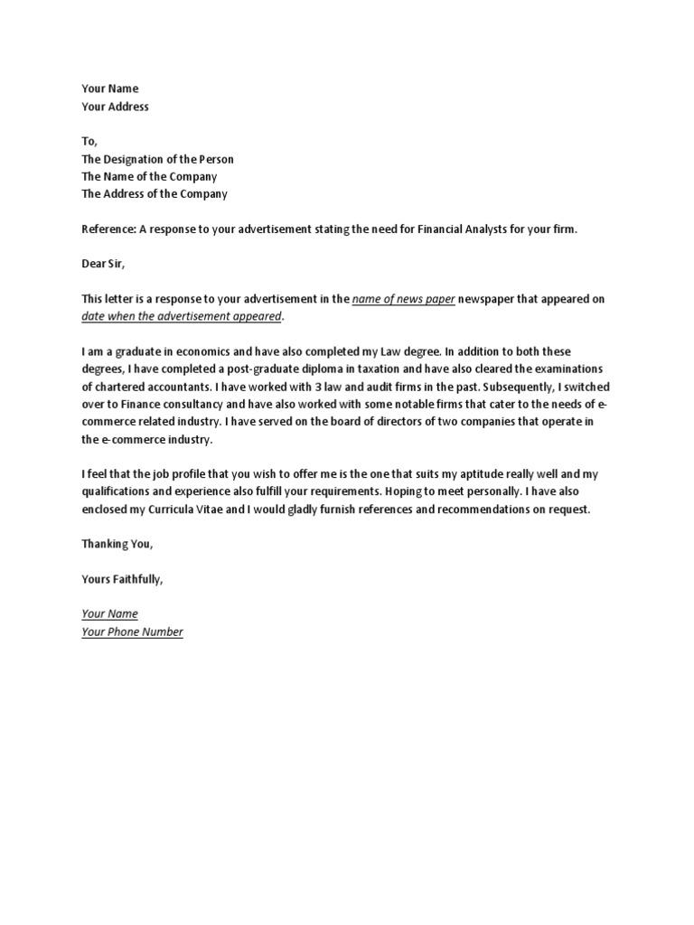 Letter Of Intent Sample For Job Application Nurse
