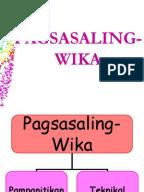 pagsasaling wika thesis