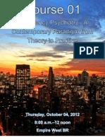 IPS 2012 - Emergency Psychiatry