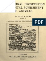 The Criminal Prosecution and Capital