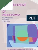 A Comprehensive Manual of Abhidhamma