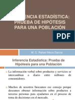Inferencia EstadÃ-stica_Prueba de Hipótesis Unidad III