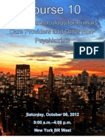 IPS 2012 - Psychiatry for PCP