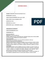 Historia Clinica Psico