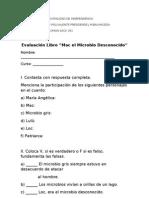 Evaluación LECTURA MAC EL MICROBIO