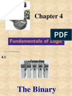 Chapter 4 - Fundamentals of Logic
