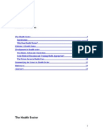 health sector of pakistan Term Paper