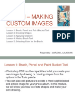 Unit VI – Making Custom Images