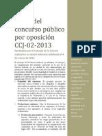 Bases Del Concurso Publico Por Oposicion Ccj 02 2013 (1)