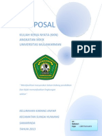 Cover Kkn Proposal