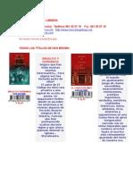 Angeles y Demonios El Codigo Da Vinci Conspiracion Fortaleza Digital Dan Brown