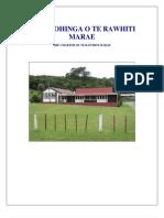 Charter of Te Rawhiti Marae