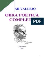 Cesar Vallejo Obra Poetica Completa
