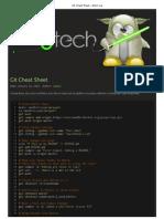 Git Cheat Sheet 6