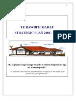 Te Rawhiti Marae Strategic Plan