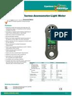 Extech Instruments 4-In-1 Environmental Meter