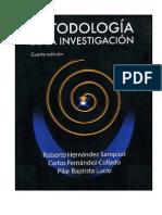 Hernandez Sampieri - Metodologia de La Investigacion Completo