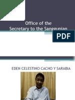 SB Secretary Office Report 2013