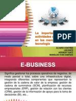 La Importancia de Las Actividades de Marketing en Los Mercados de Alta Tecnologia