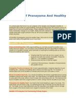 Benefits of Pranayama and Healthy Heart