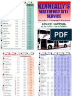 Waterford City Service