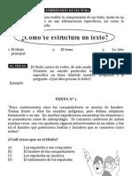 La comprensión de lectura -tema-idea princ.6º