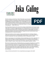Jaka Galing - Kho Ping Hoo