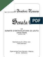Zamboni Sonata 6 Am