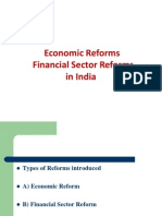 Financial Sector Reforms in India