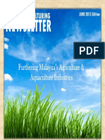 Agri and Aqua Culturing Newsletter June 2013 Quarterly