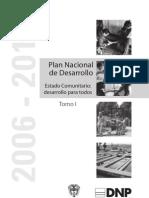Plan Nacional de Desarrolo 2006-2010 Parte1