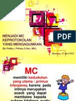 MC Keprotokolan Unpad