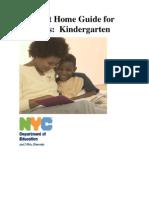 Kindergarten Learn at Home