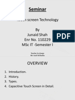 Introduction to Touch Screens