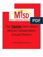 Top Twelve Facts about MISD