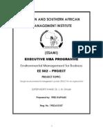 ENVIRONMENTAL MANAGEMENT SYSTEM AT NIC  (T) LTD