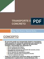 Transporte Del Concreto