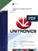 40.-Grabar Datos en Una Tabla de Datos Con Unitronics