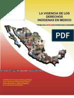 Vigencia Derechos Indigenas Mexico