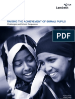 Raising the Achievement of Somali Pupils 2007